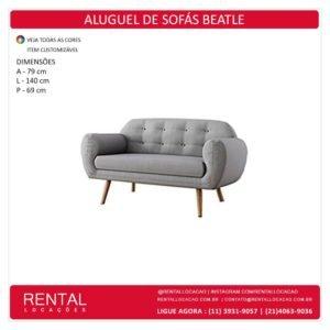 Aluguel de Sofá Beatle